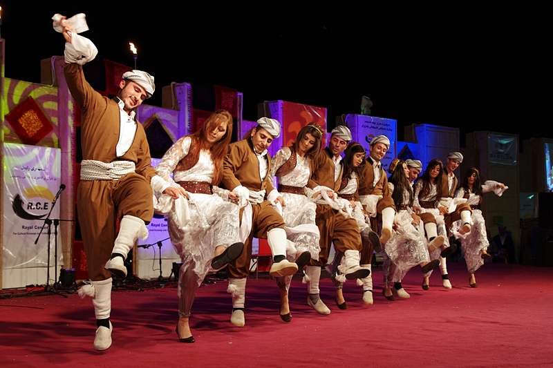Dohuk folk dance team